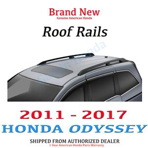 Image Is Loading Genuine OEM Honda Odyssey Roof Rails Rack 2011