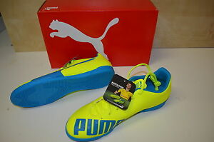 Puma evoSPEED 5.4 IT yellow-blue-white Fußballschuh