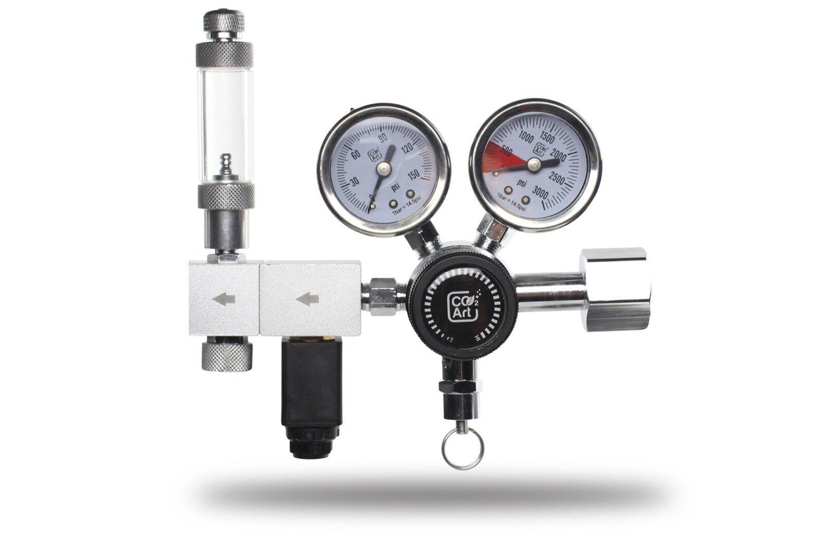 ACQUARIO CO2 regolatori, DUEL e singolo stadio con solenoide, Sodastream Adattatore