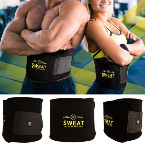 Men Waist Trainer Vest Weight Loss Sauna Neoprene Body Shaper Tank Top Shirt USA