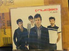 IL NUCLEO - 27 APRILE cd slim case PROMOZIONALE 2005