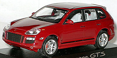 Model Building Sunny Porsche Cayenne Gts Type 9pa 2007-10 Red Red 1:43 Minichamps Lovely Luster Automotive