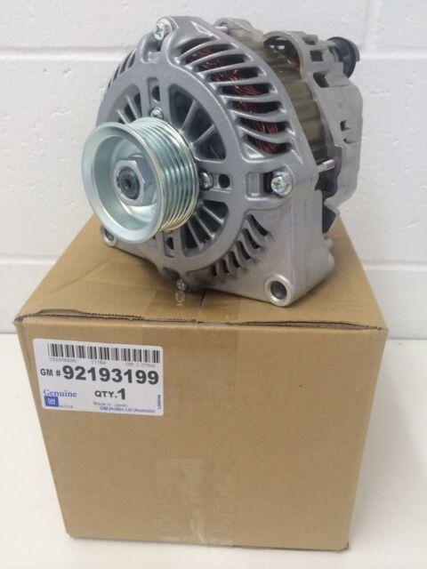 Genuine Holden VE V8 140 Amp Alternator 2007- 2009 part number 92193199
