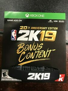 Details about NBA 2K19 VC MYTEAM POINTS XB1 VIRTUAL CURRENCY WRISTBAND  PLEASE READ LEBRON