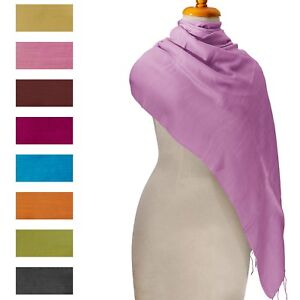 Burmese-Silk-Scarf-Shawl-Pashmina-100-Genuine-All-Colors-MyanmarMakers-70x30-in