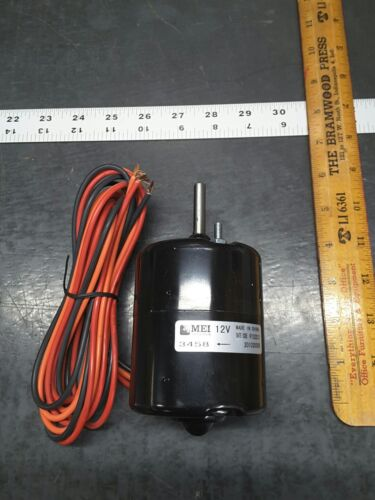 NEW 3458 12V Blower Motor MEI P094307 20102000R 3-Wire Front-Stud