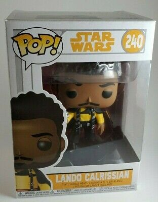 Funko Pop Star Wars Solo-Lando Calrissian Vinyl Figure #240
