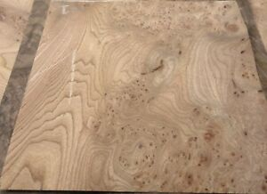 Details About Carpathian Elm Burl Wood Veneer 12 X 12 With Paper Backer Aa Grade 1 40 Thick