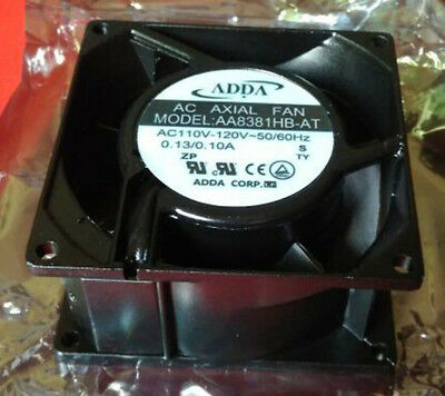 80mm 38mm New Case Cabinet Fan 110V 115V 120V AC 31CFM Ball Bg Cooling 8038