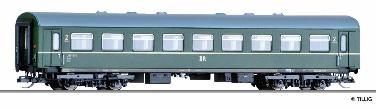HS Tillig 16626 REKO viaggiatori 2. classe b4ge DR B. N. 260-380 TT