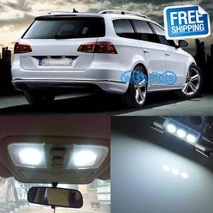 15x Light LED Interior Package Kit For VW Volkswagen Passat B7 Pure White