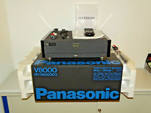 Panasonic NV-V8000 High-End S-VHS /VHS-C Videorecorder, OVP&NEU, 2J. Garantie