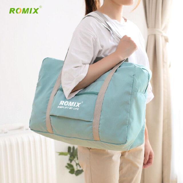 Romix Folding Waterproof Reusable Eco Shopping Travel Shoulder Bag Handbag RH43