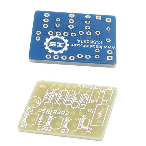 Mobile Phone Signal Flash Light DIY Kit 3-12V Radiation Power Electronic Fun Kit