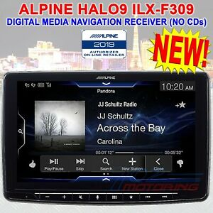 Alpine Ilx F309 Halo9 9 Single Din Touchscreen Apple Carplay