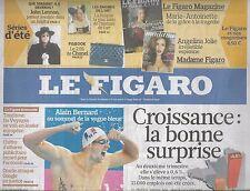 LE FIGARO N°20539 14/08/2010  CROISSANCE/ LENNON/ IRAN/ CATHOLIQUES/ BERNARD
