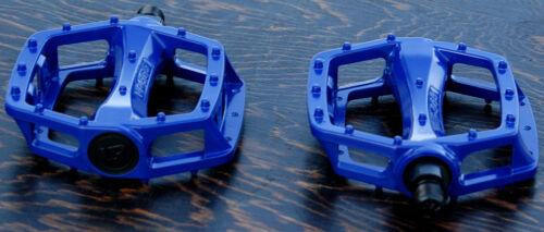 """Blue Platform Bike Pedals 1//2/"""" Vintage Schwinn Cruiser Old School BMX Bicycle"""