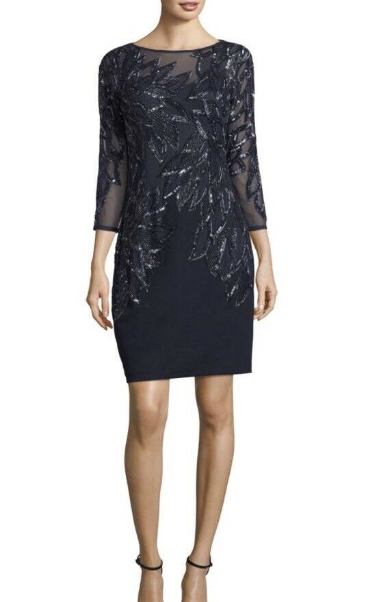 NWT Aidan Mattox Sequins Embellished Cocktail Dress  Sz 6  Have 2 Of Them