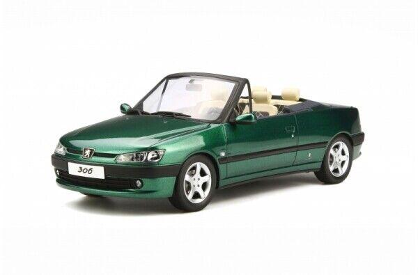 Otto MODELS 583 peugeort 306 Carbriolet Roland Garros 1999 Green 1 18 Limited...