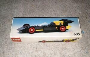 Vintage Lego - Voiture de course 695 1976