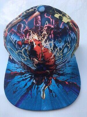 NEW /& RARE DC Comics BATMAN Sublimated Print All Over PU Leather Snapback Hat