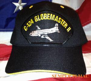 C124-GLOBEMASTER-2-HAT-OLD-SHAKEY-US-AIR-FORCE-PATCH-MATS-ATC-MAC-PIN-UP-CAP-WOW
