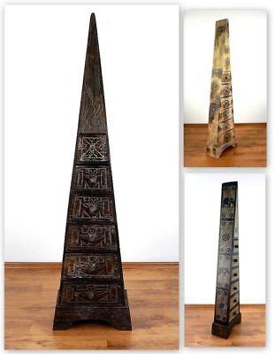 Schubladenkommode Pyramide Schmuckschränkchen Nachtschrank Kommode Bali