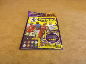 PANINI/'S FOOTBALL 2020 PREMIER LEAGUE STICKER STARTER PACK ENGLISH FOOTBALL