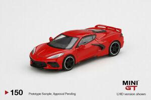 Mini-GT-1-64-2020-Antorcha-Roja-Chevrolet-Corvette-C8-stingray-coche-modelo-MGT00150