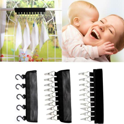 Portable Clip Cap Rack Closet Hanger Storage Organizer Door Baseball Hat Racks