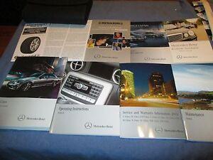 2013 mercedes c class sedan owners manual new set audio 20 250 300 rh ebay ie 2016 C-Class Interior 2013 mercedes c class owners manual