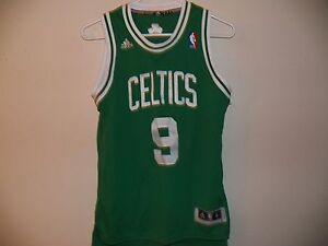 f9841a469b9c NEW Rajon Rondo  9 Boston Celtics Adidas NBA Youth Medium Green ...