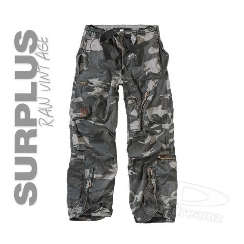 SURPLUS™ Raw Vintage★ AIRBORNE// FATIGUES// TREKKING Cargo Hose US Military Pants