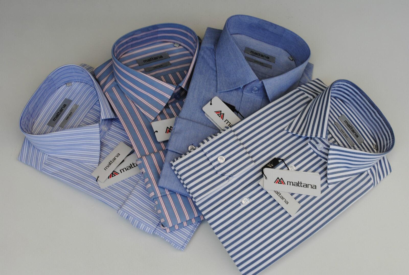 OFFERTA 4 capi di camicie classiche collo 40 italia puro cotone stiratura facile
