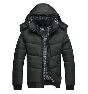 Men-039-s-Winter-Warm-Thicken-Jacket-Outwear-Coat-Parka