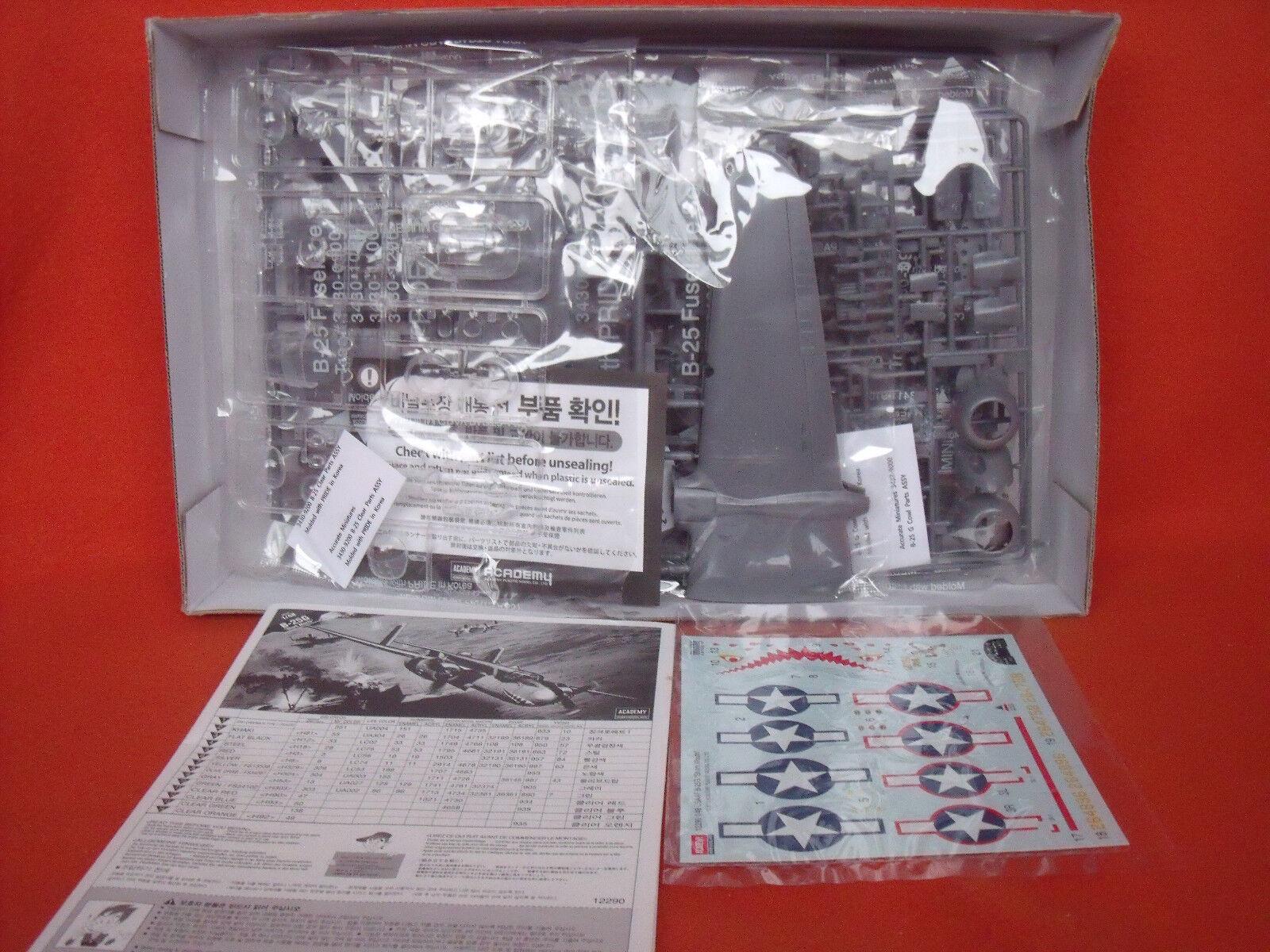 Academy ® 12290 12290 12290 B-25G Shark Mouth 1 48  | Öffnen Sie das Interesse und die Innovation Ihres Kindes, aber auch die Unschuld von Kindern, kindlich, glücklich  21aad2