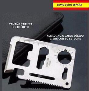TARJETA-DE-SUPERVIVENCIA-CAZA-PESCA-CAMPING-COCHE-CARTERA-ACERO-NAVAJA
