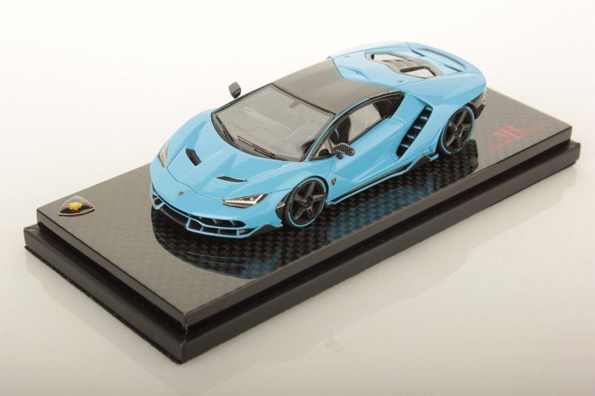 Lamborghini Centenario bleu Cepheus MR 1 43 no BBR VERY RARE