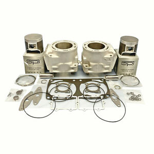 Arctic-Cat-800-Cylindres-Spi-Pistons-Joints-07-09-98B0-M8-F8-Re-Plated-OEM