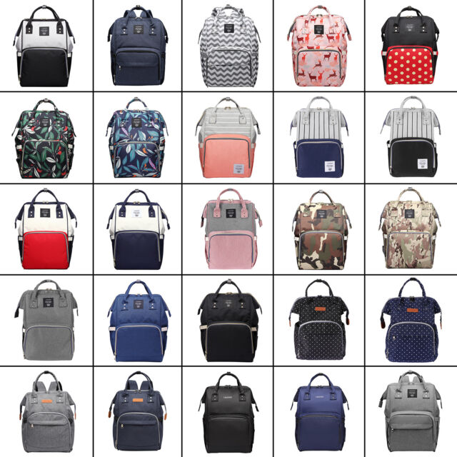 LEQUEEN Mummy Portable Maternity Nappy Diaper Bag Large Capacity Travel Backpack