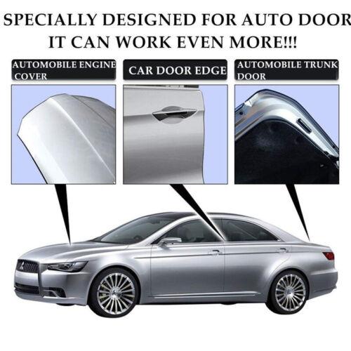 Black Rubber Car Door Flexible Trim Edge Guard Moulding Seal Strip Protector