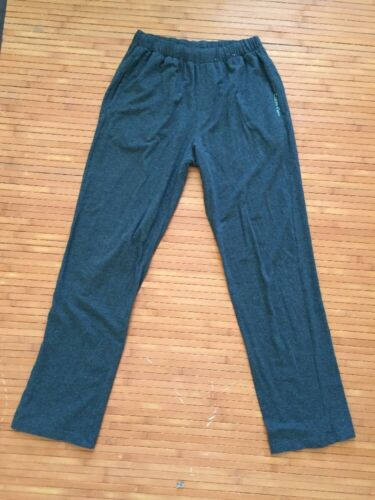 Calvin Klein NEW Men's Dk Heather Gray Cotton Knit Elastic Waist Lounge Pants S