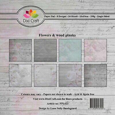 New Dixi Craft  Paper Favourites 15cm x 15cm Paper Pad Bricks