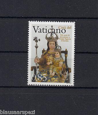 Vatikan 1637 **/mnh Mutig 1027 700 Jahre Unsere Liebe Frau Von Europa