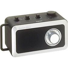 TEAC R1 R-1 Premium Edition AM/FM Mono Radio (Black) In Retail Box Perfect A++++