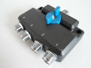 Bonne Qualité 4 Way Cb Ham Antenna Switch... Radio _ Trader _ Irlande.-...........radio_trader_ireland.fr-fr Afficher Le Titre D'origine