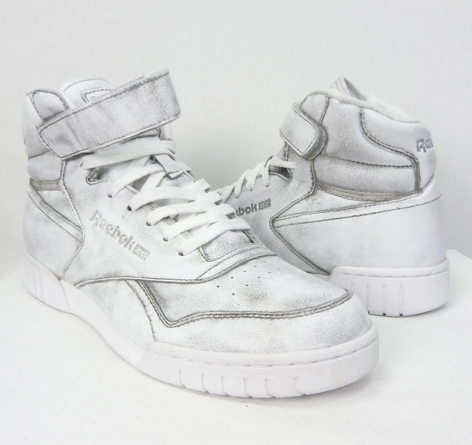 NEW REEBOK MENS SHOES EX-O-FIT PLUS HI VINTAGE SNEAKERS SNEAKERS SNEAKERS DEADSTOCK SIZE 9 US 493162