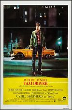 "TAXI DRIVER 1SH 1 ONE SHEET 27"" X 41"" ORIGINAL 1976 MOVIE POSTER ROBERT DE NIRO"