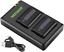 A6500 A6300 Neewer NP-FW50 Cámara conjunto de Cargador de batería compatible con Sony A6000