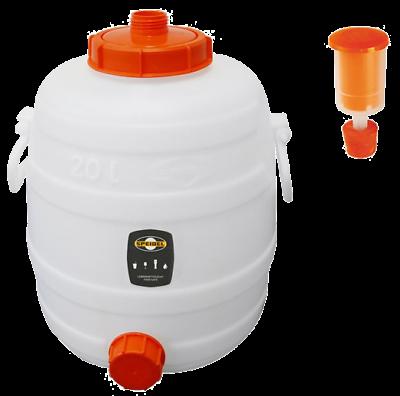Stopfen Zapfhahn NW15 Verschlußkappe 1 Stck Speidel Fass 30 Liter Gärspund inkl